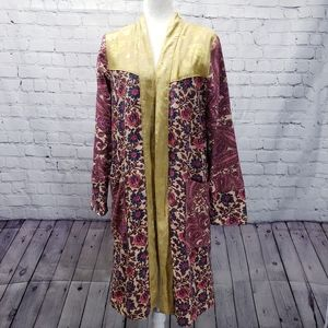 Free People Maggie patched duster. XS.
